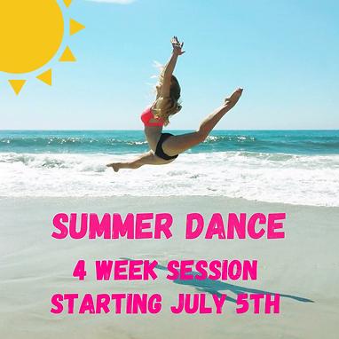 2021 Summer Dance Flyer