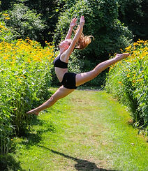 dancer, leap, jump