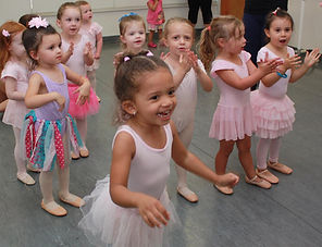 tiny tot dance class, preschool dance class