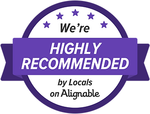 we're highly reccommended badge