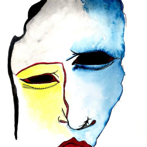 Mr. Blue's Yellow Cheek