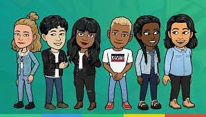 Levi BitMoji Conversation Media Marketing Campaign