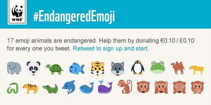 WWF Emoji Marketing Campaigns