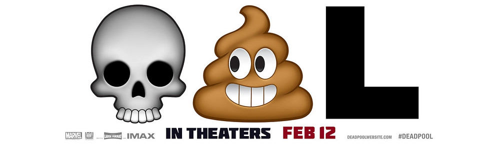 DeadPool Emoji Banner Marketing