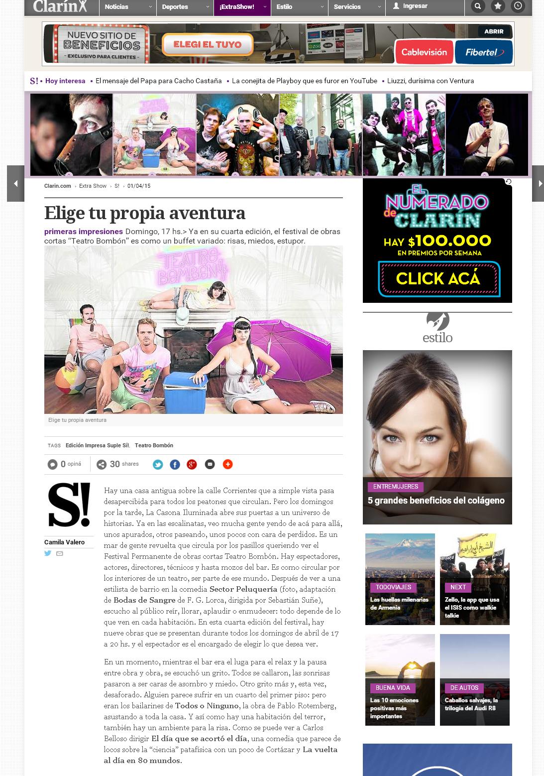 _Clarin_Suple_S+¡_-_Cr+¡tica_Camila_Valero_-_Elige_tu_propia_aventura