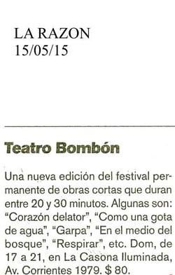 LA RAZON, 15 DE MAY.1