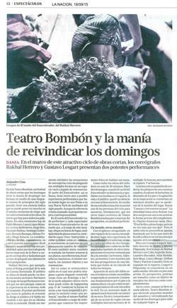 LA NACION, 18 DE SEP