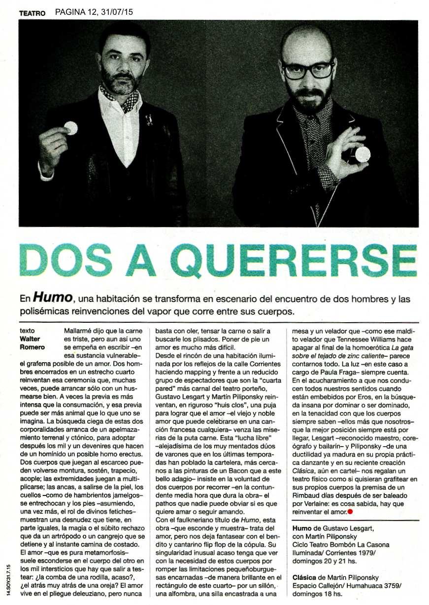 PAGINA 12, 31 DE JUL_Humo de Lesgart