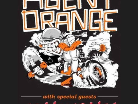 One month out from the Agent Orange tour