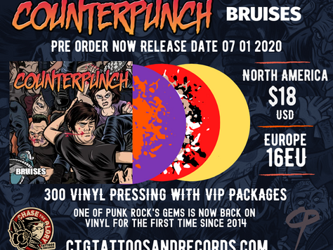 Bruises Reissue! Pre-sale up now!