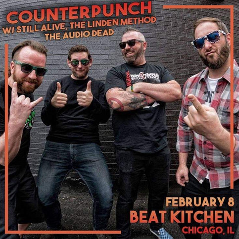 Chicago. It's time we have a little talk. Face to face. In person. At Beat Kitchen.....February 8th.