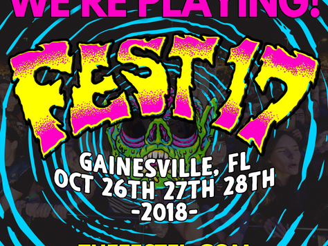 We're playing Fest!!