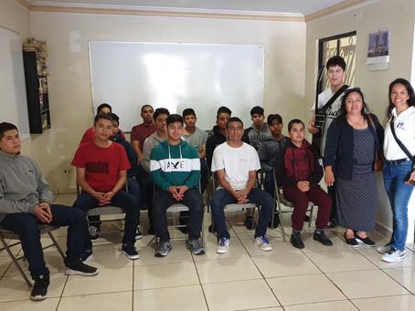 2018. Extending light to drug rehabilitation center