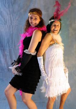 20s Flapper Girls