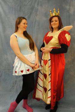 Alice In Wonderland &Queen of Hearts