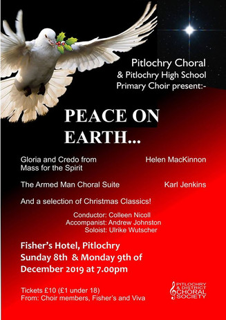 Peace on Earth- Pitlochry & District Choral Society