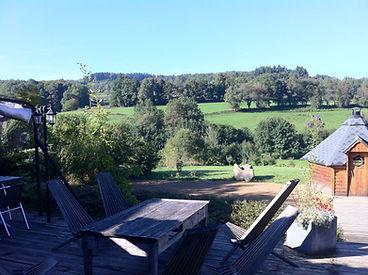 Paysage terrasse