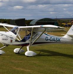 Aeropro Eurofox 912(S) G-OASK Easter 6-9