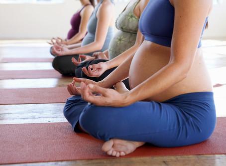 Йога для будущих мам.