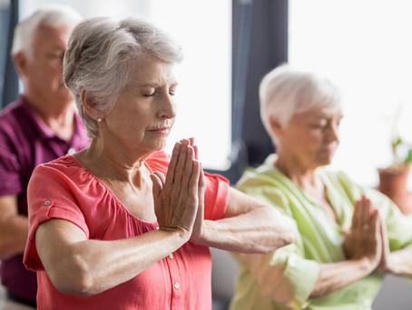 Йога для наших мам.