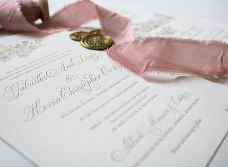 My Favorite Paper Good: Wedding Invitations