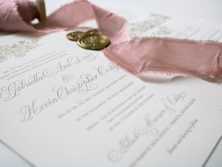 My Favorite Paper Good: Wedding Invitations