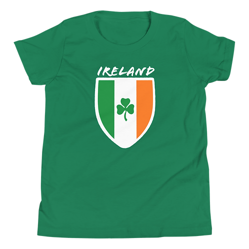 Ireland Shield | Youth Short Sleeve T-Shirt