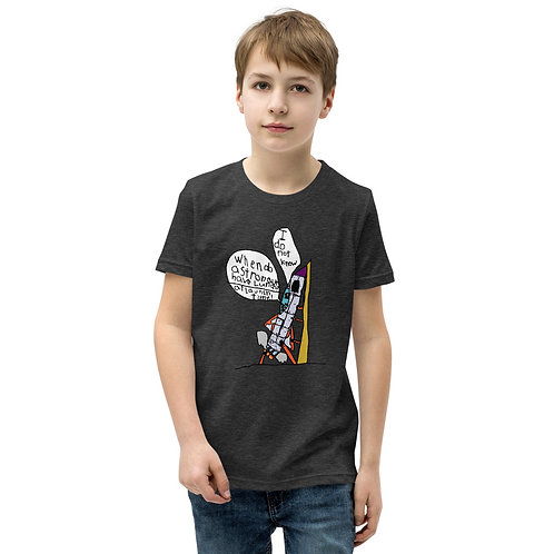 Launch Time by OMG Youth Short Sleeve T-Shirt