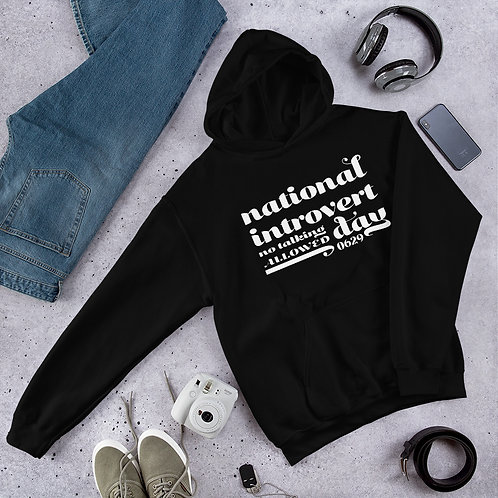 National Introvert Day | Unisex Hoodie