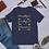Thumbnail: THANKFUL»GRATEFUL»BLESSED   Short-Sleeve Unisex T-Shirt