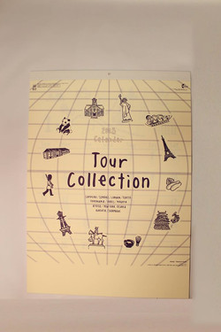 Tour Collection2015 カレンダー