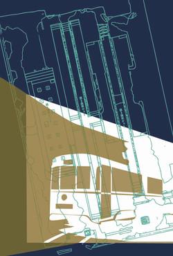 企画展「市電 沢上車庫を掘る」 Postcard