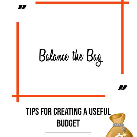 Budget the Bag!