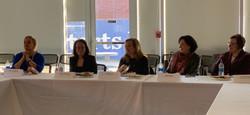 IWFCT Panel, Sara Longobardi, Marie Meliksetian, Valarie Gelb, Debra Hertz and Dolores Ennico
