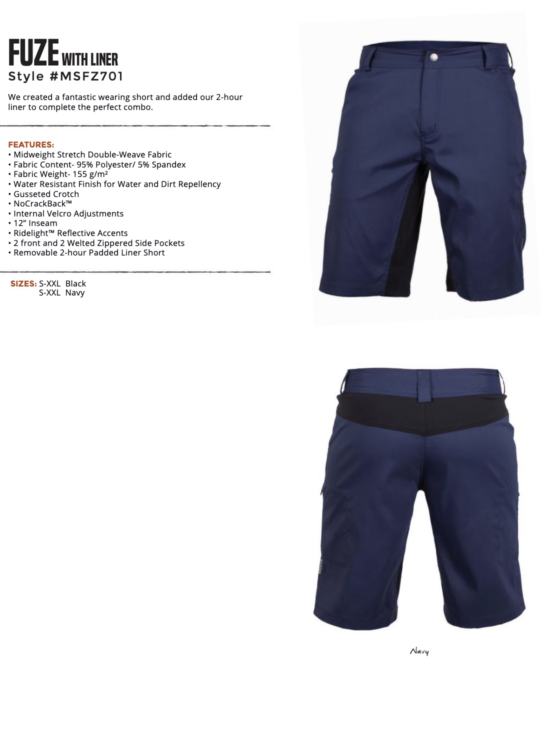 Men's FUZE Short