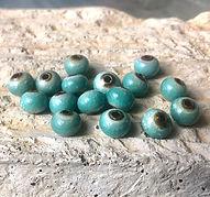 enameled copper beads