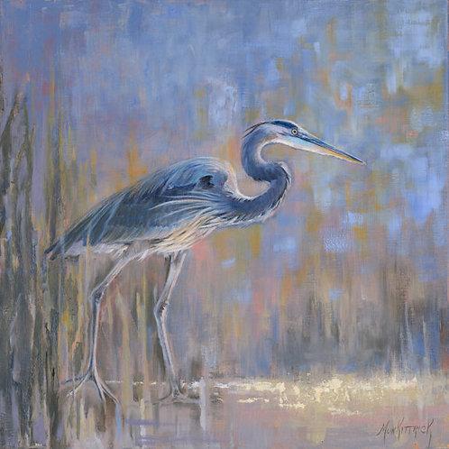 Morning Light - Blue Heron