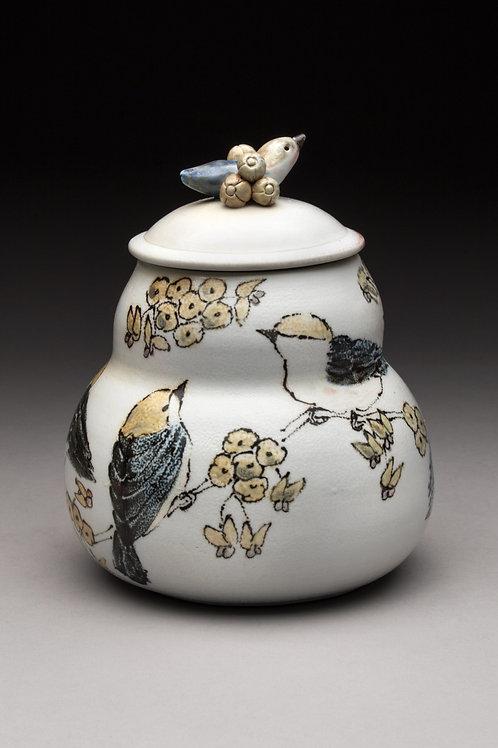 Nuthatch Tea Jar