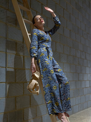 Anthropologie x JRF Mixed-Print Jumpsuit  Social Media Campaign Model: Kirsty Howe Production Assistant: Hiba Younes