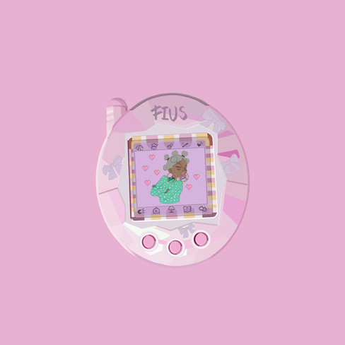 Tamagotchi Baby Popsocket  Commissioned by: FIUS Collective