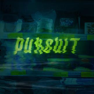 Pursuit Album cover  Original Typography &