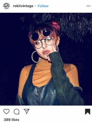 Social Media Content for Flip 'Dwayne' glasses  Brand Commissioned: Rokit Vintage