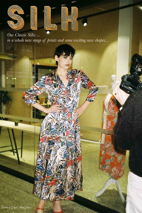 Jessica Russell Flint Autumn/Winter 2019 Collection Lookbook  Photographer: Morgan Barfield Designer: Jessica Russell Flint MUA: Ella Formosa [Styling in house]