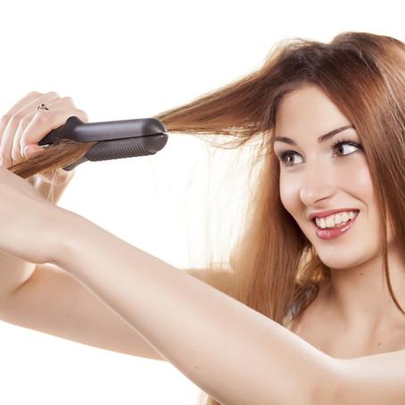 Cuida tu cabello de la plancha