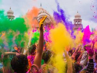 Holi, el festival más colorido del mundo