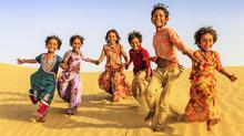 Viajar a la India con los pequeños del hogar