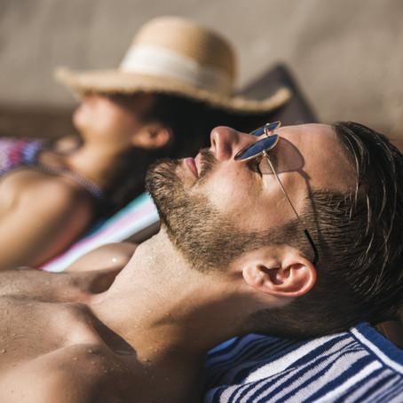 La barba en la playa y sus cuidados