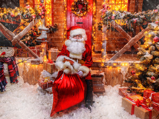 La magia de la casa de Santa Claus