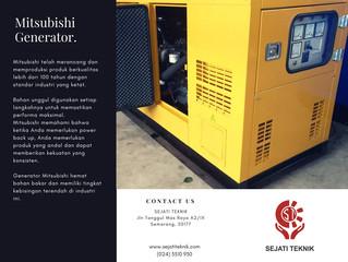 Spesifikasi Generator (genset) Mitsubishi