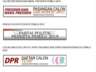 Pemilu Serentak 2019: Gunakan Hak Pilihmu Ayo ke TPS